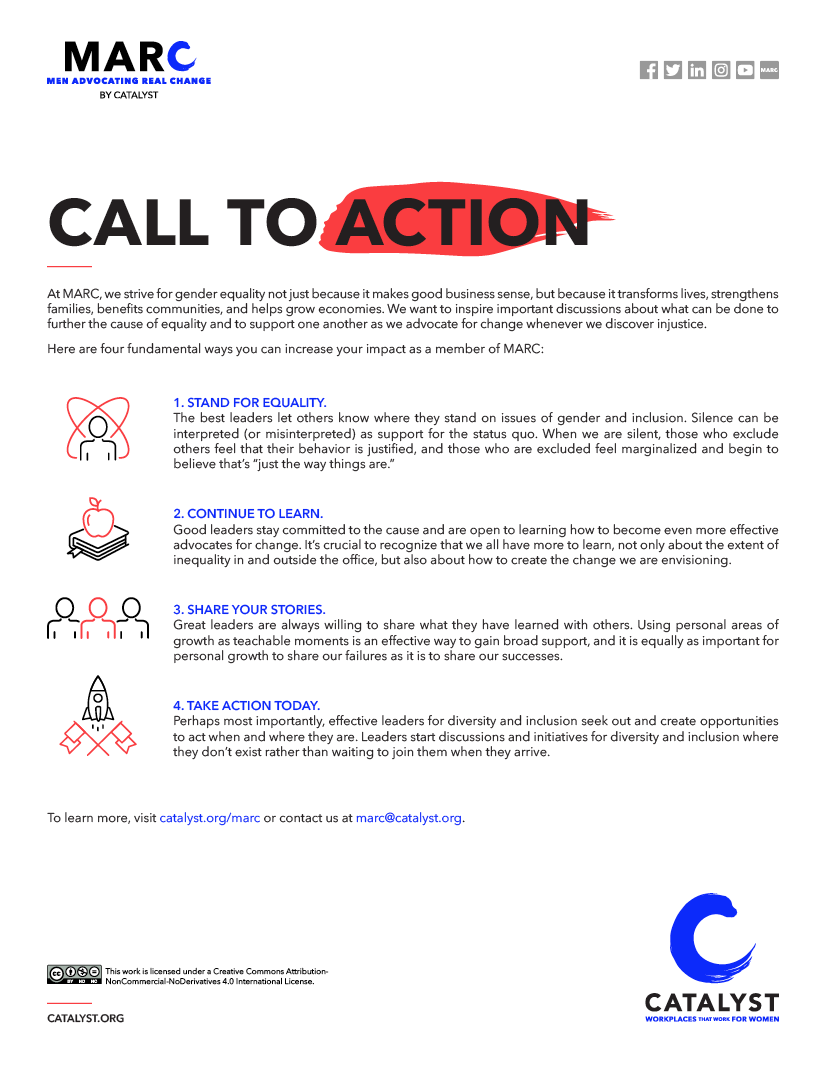 MARC: Call to Action