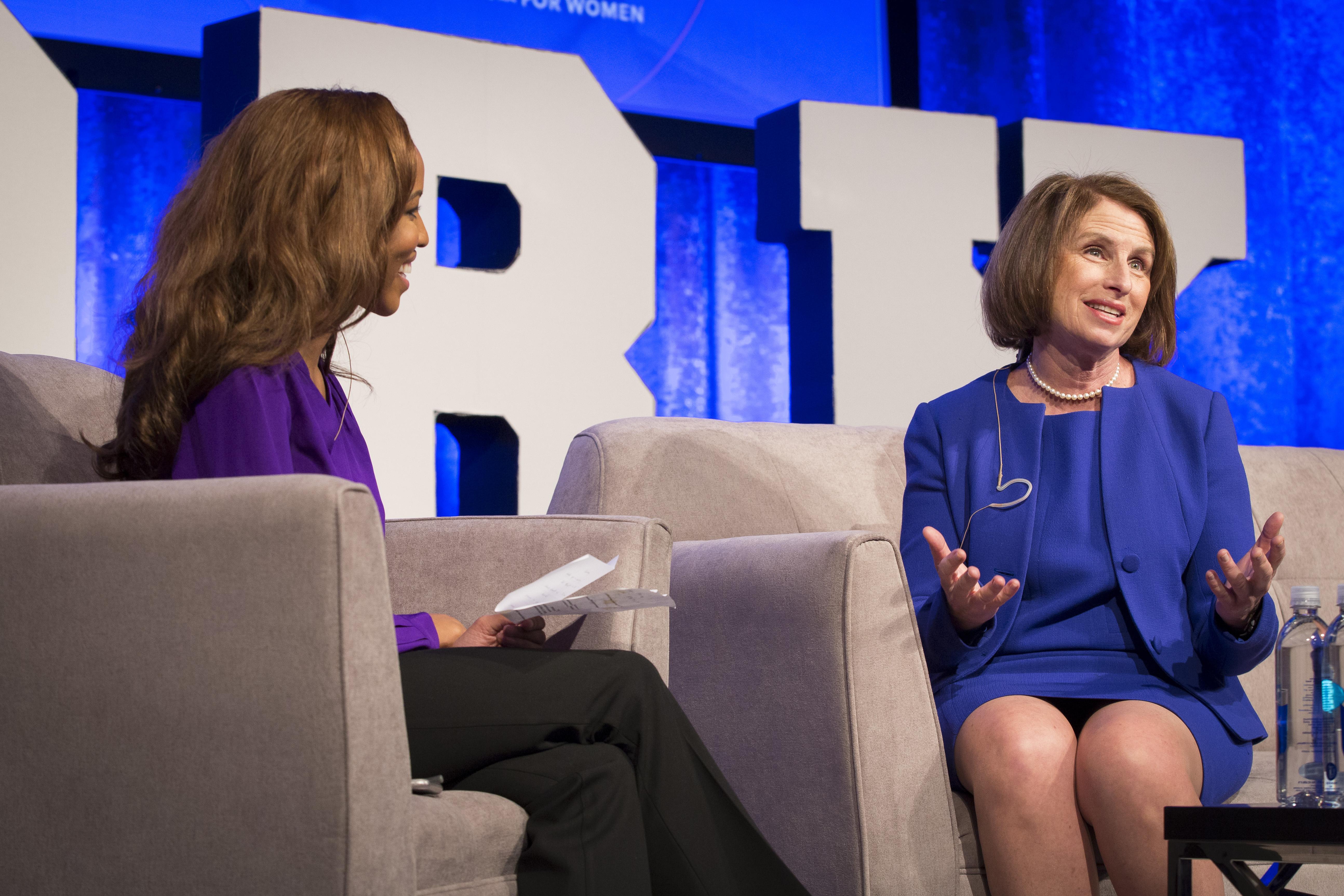 CNN International's Zain Asher interviews Catalyst President & CEO Lorraine Hariton.