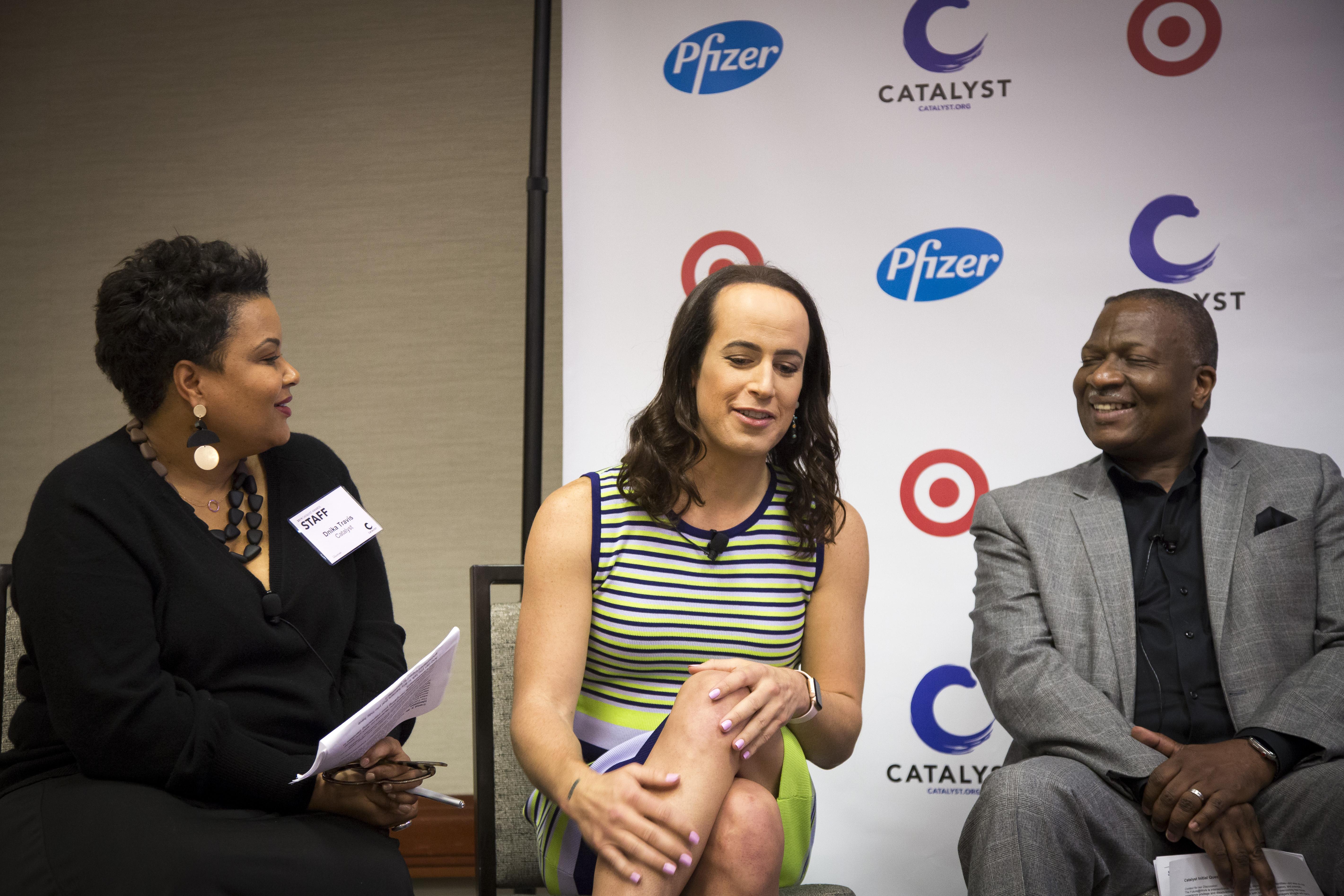 Founder & CEO of Translator LLC, Natalie Egan, discusses her transition.