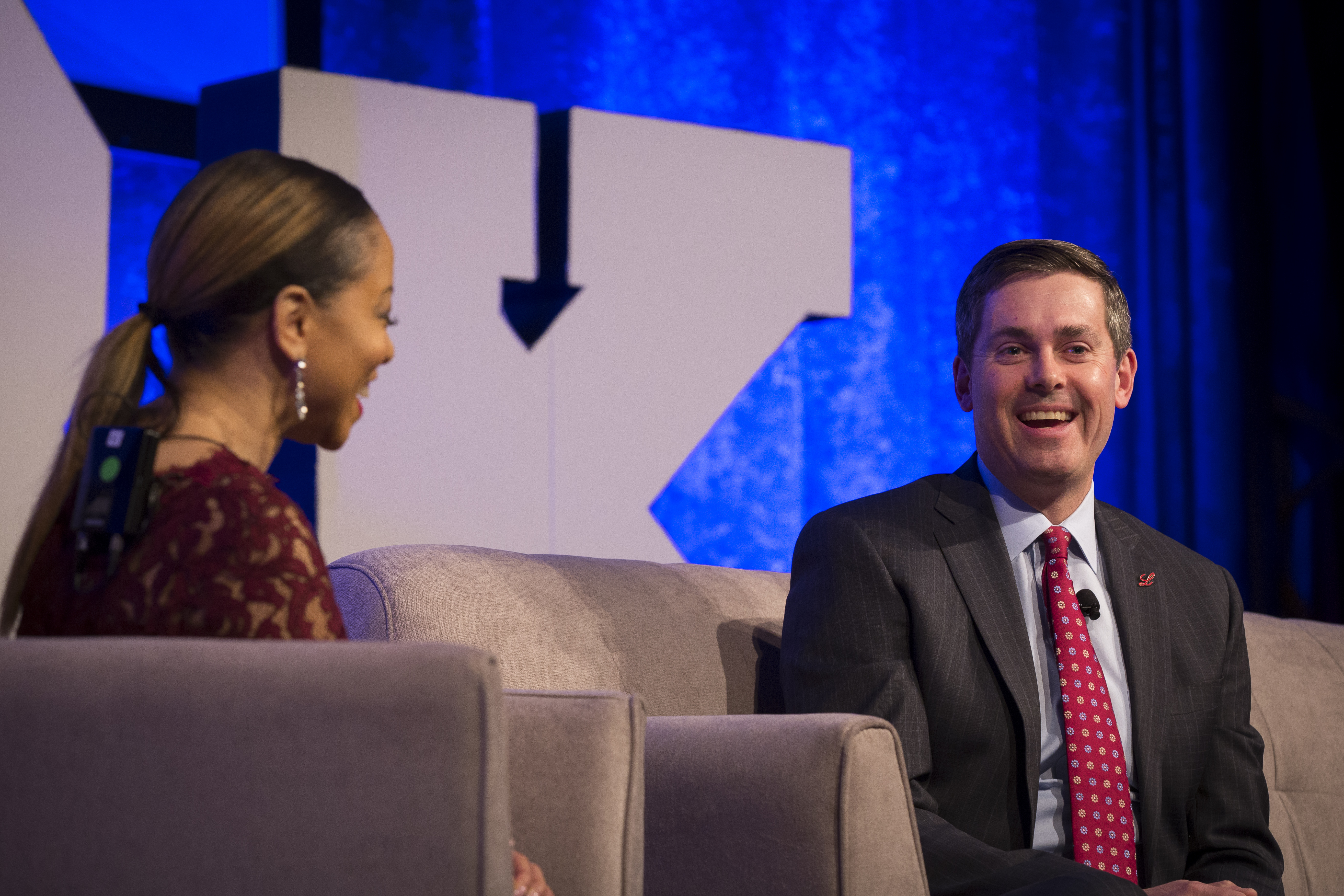 Eli Lilly and Company's Joy Fitzgerald, Chief Diversity Officer, and David A. Ricks, Chairman & CEO.