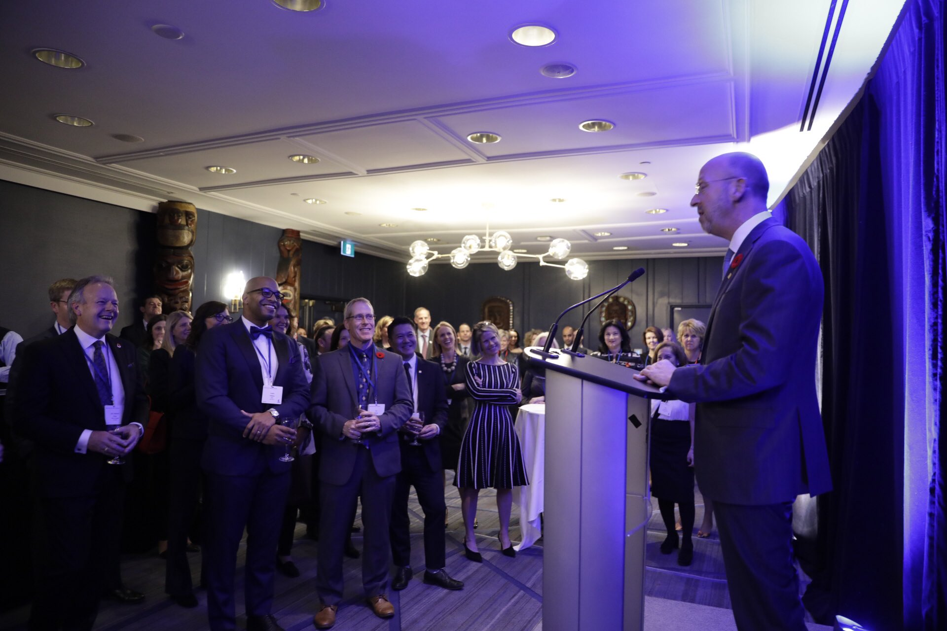 Victor G. Dodig, President & CEO, CIBC - at the 10 year reception