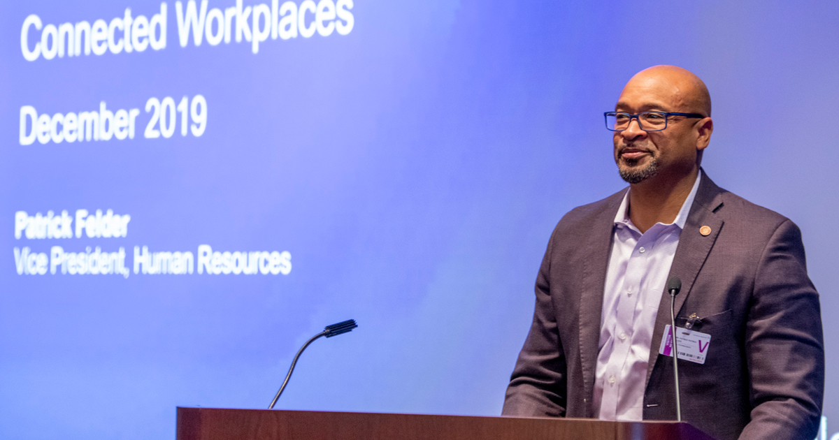 Patrick Felder, VP Human Resources, Dell, discusses how to build geographically dispersed teams.